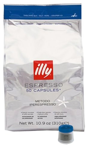 Кофе в капсулах illy IperEspresso Lungo (50 шт.)