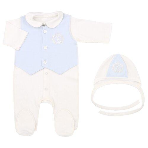 Комплект одежды Linas Baby размер 62 (1-3), голубойКомплекты<br>