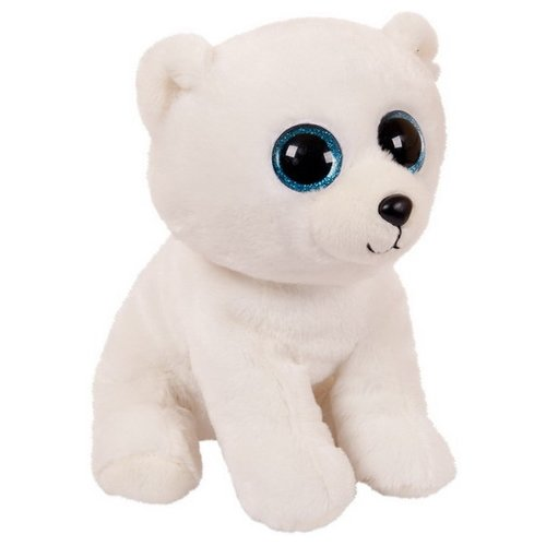 Купить Мягкая игрушка Chuzhou Greenery Toys Медвежонок белый 24 см, Мягкие игрушки