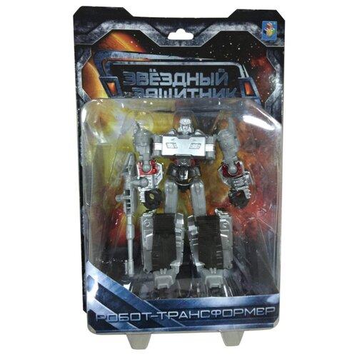 Трансформер 1 TOY Звездный защитник Танк серо-черный трансформер 1 toy звездный защитник космолет красный черный