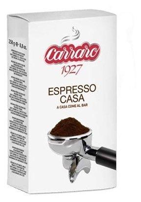 Кофе молотый Carraro Espresso Casa