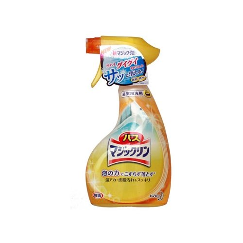 цена на Kao спрей-пенка для ванны Bath Magiclean Bubble Лимон 0.38 л