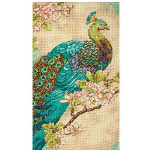 Dimensions Набор для вышивания крестиком Indian Peacock 22,8 х 38,1 см (35293)Наборы для вышивания<br>
