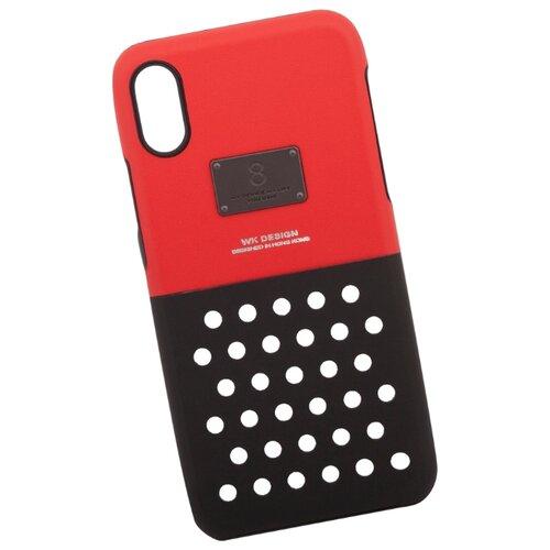 Купить Чехол WK DEEKA Series Phone Case для Apple iPhone X красный