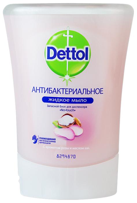 Мыло жидкое Dettol Антибактериальное с ароматом розы и маслом ши