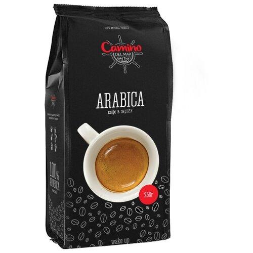 Кофе зерновой Camino del Mar Arabica, арабика, 250 гКофе в зернах<br>