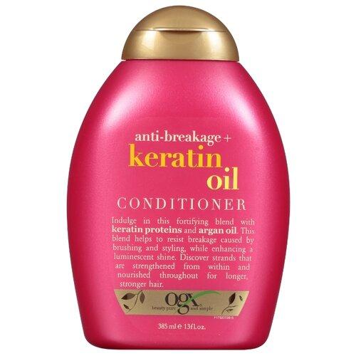 OGX кондиционер Anti-Breakage Keratin Oil, 385 мл