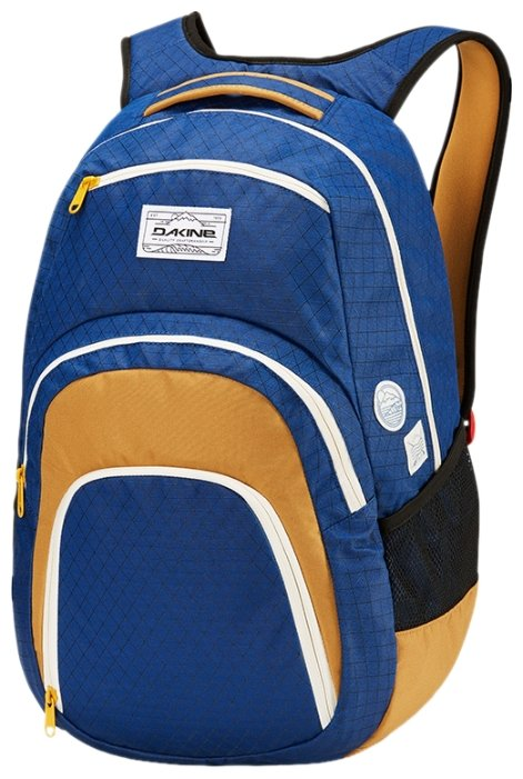 Рюкзак DAKINE Campus 33 blue/yellow (scout)