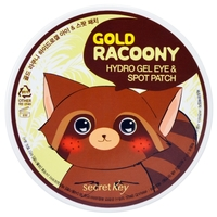 Secretkey Патчи Gold Racoony Hydrogel Eye & Spot Patch