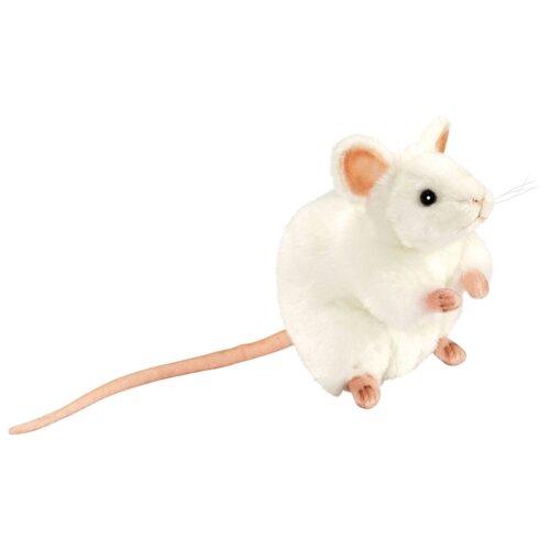Купить Мягкая игрушка Hansa Белая мышь 16 см, Мягкие игрушки