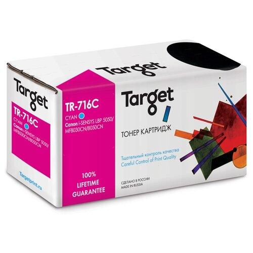 Фото - Картридж Target TR-716C, совместимый картридж sakura cb541a 716c совместимый