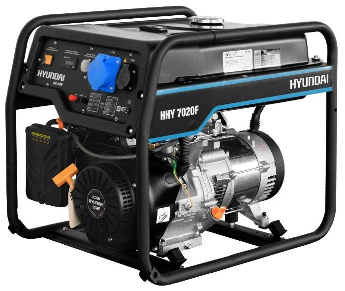 Бензиновый генератор Hyundai HHY 7020F (5000 Вт)