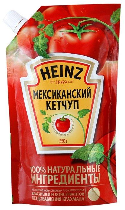 Кетчуп Heinz Мексиканский острый, дой-пак