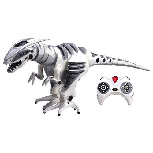Интерактивная игрушка робот WowWee Roboraptor белый/серый