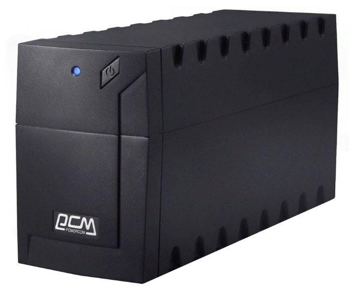 Ибп ups powercom rpt-600a euro raptor, line-interactive, 600va / 360w, tower, schuko
