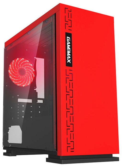 Компьютерный корпус GameMax H605 Expedition Red