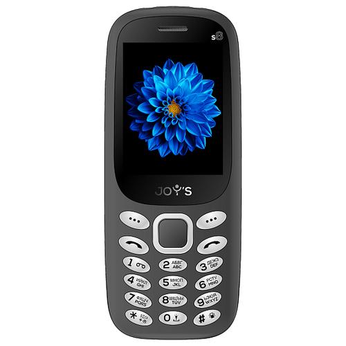 Телефон JOY'S S8 темно-серый телефон