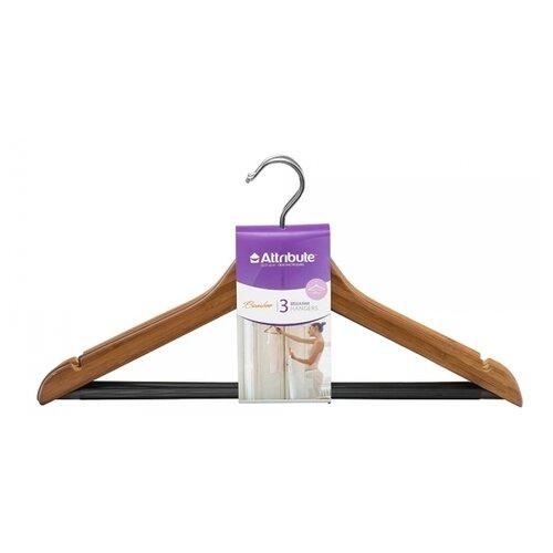 Вешалка Attribute Набор универсальные Bamboo коричневый