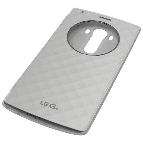 Чехол LG CFR-100 для LG G4 белыйЧехлы<br>