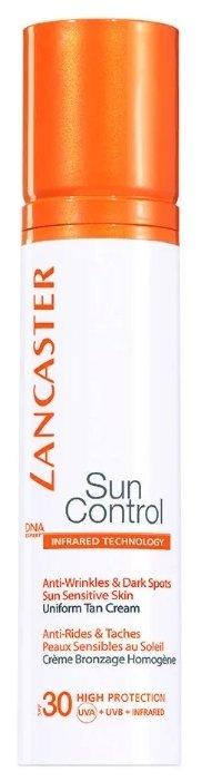 Крем для защиты от солнца Lancaster против морщин и пигментных пятен Ровный загар SPF 30