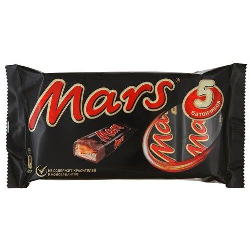 Батончик Mars с нугой и карамелью, 40.5 г, мультипак (5 шт.)