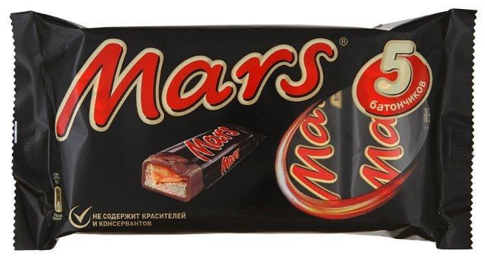 Батончик Mars с нугой и карамелью, 40.5 г, мультипак