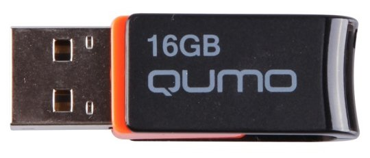 Qumo Флешка Qumo Hybrid 16Gb