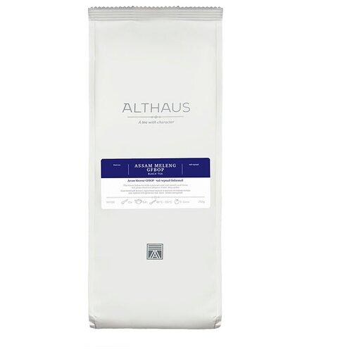 Чай черный Althaus Assam Meleng, 250 г althaus essence of fruin фруктовый листовой чай 250 г