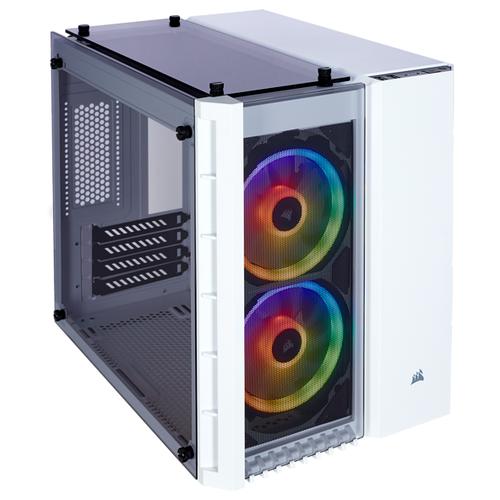Компьютерный корпус Corsair Crystal Series 280X RGB Tempered Glass White