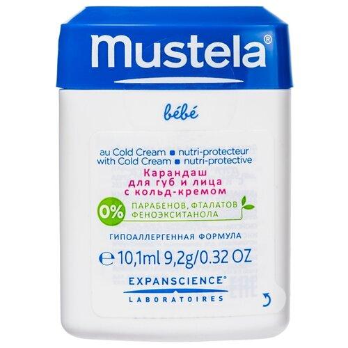 Купить Mustela Карандаш для губ и лица с кольд-кремом 9.2 г, Уход за кожей
