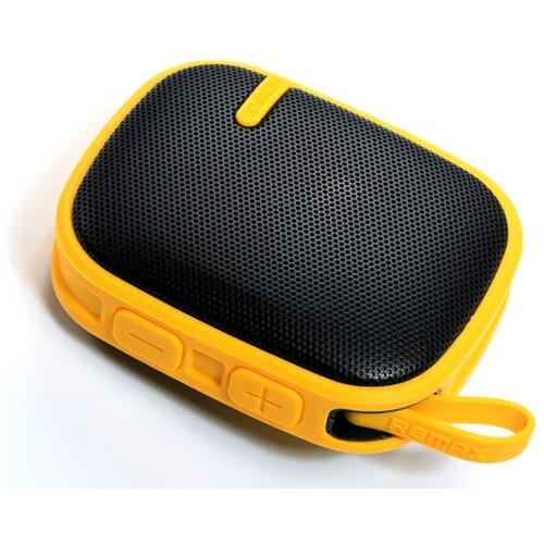 Портативная акустика Remax RM-X2 желтый кабель remax chips желтый