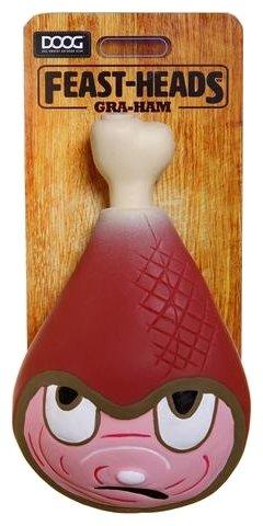 Игрушка для собак DOOG Feast-Heads Gra-Ham