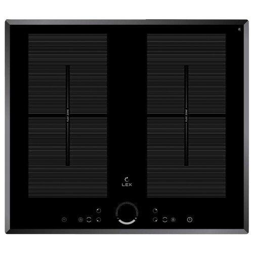 Индукционная варочная панель LEX EVI 640 F BL индукционная варочная панель lex evi 640 1 wh