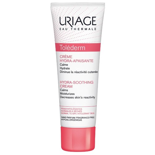 Uriage Tolederm Hydra-Soothing Cream Крем увлажняющий успокаивающий для лица, 50 мл прурисед противозудный успокаивающий кремэмульсия 100 мл uriage pruriced