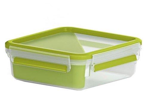 EMSA Контейнер CLIP & GO для сэндвичей 518104 зеленый/прозрачный
