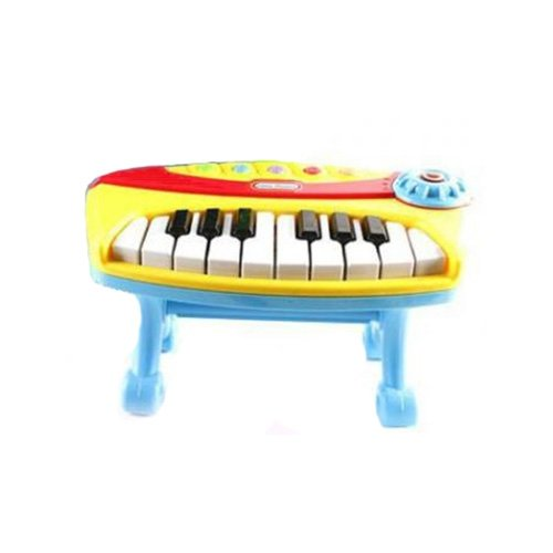 Shantou Gepai пианино Little Pianist 2819-1 желтый/голубой недорого
