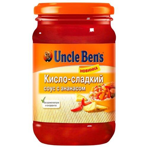 Соус Uncle Ben's Кисло-сладкий с ананасом, 210 г