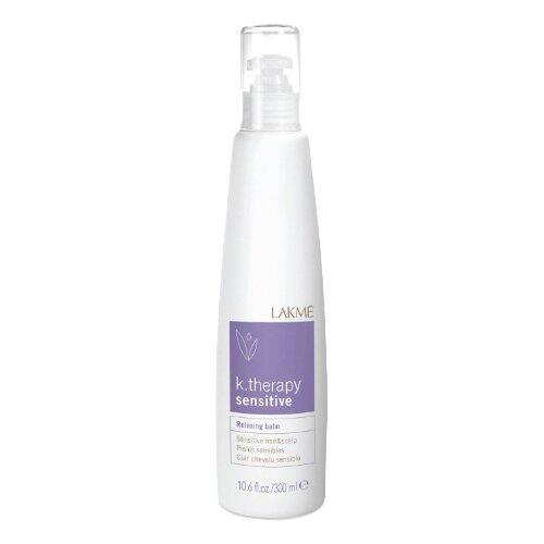 Lakme бальзам K.Therapy Relaxing Sensitive Hair & Scalp успокаивающий для чувствительной кожи головы и волос, 300 мл