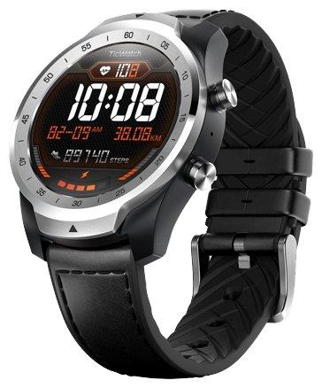 Часы Ticwatch Pro liquid metal silver