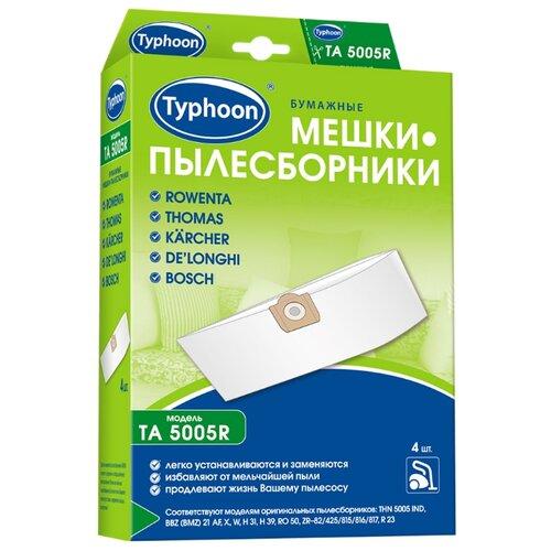 Тайфун Бумажные мешки-пылесборники TA 5005R белый 4 шт.