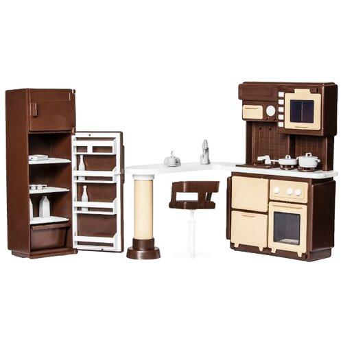 Фото - ОГОНЁК Набор мебели для кухни Коллекция (С-1298) коричневый огонёк дачный дом коллекция с 1360