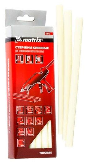 matrix Клеевые стержни 11х200 мм, 12 шт