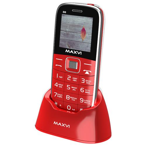 Купить Телефон MAXVI B6 красный