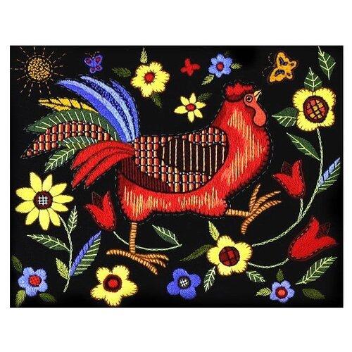Dimensions Набор для вышивания гладью Красный петушок 36 х 28 см (1543)Наборы для вышивания<br>