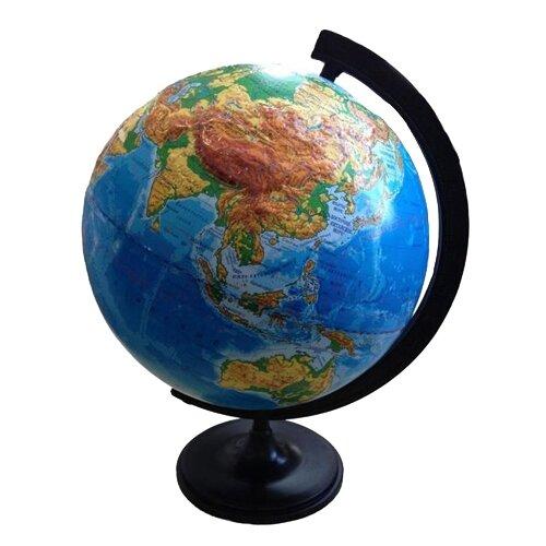 цена на Глобус физический Глобусный мир 320 мм (10196) черный