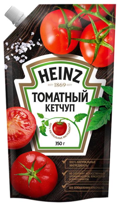 Кетчуп Heinz Томатный, дой-пак