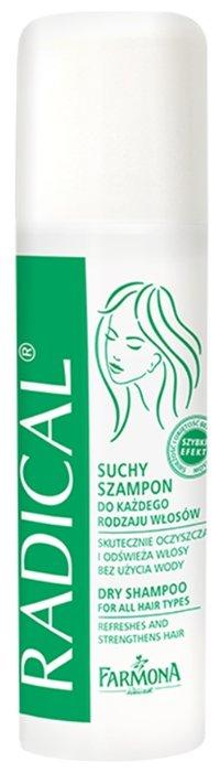 Сухой шампунь Farmona Radical For All Hair Types, 150 мл