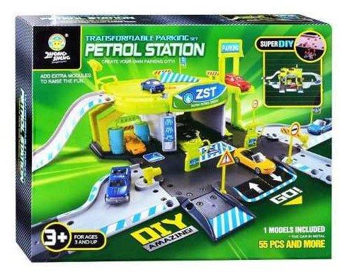 Shantou Gepai Игровой набор Автозаправочная станция AE1015
