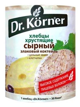 Хлебцы мультизлаковые Dr. Korner злаковый коктейль сырный 100 г