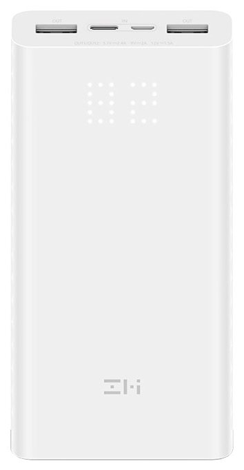 Аккумулятор ZMI QB821 AURA Power Bank 20000mAh, белый - Характеристики - Яндекс.Маркет